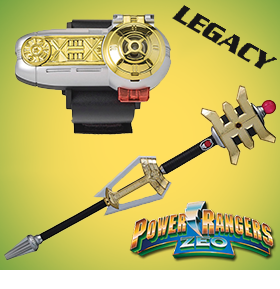 POWER RANGERS ZEO LEGACY REPLICAS