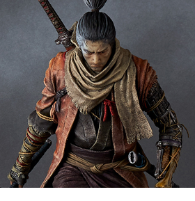 Sekiro: Shadows Die Twice Wolf 1/6 Scale Statue (With Bonus Items)