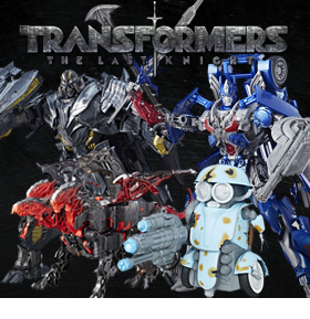TRANSFORMERS THE LAST KNIGHT FIGURES