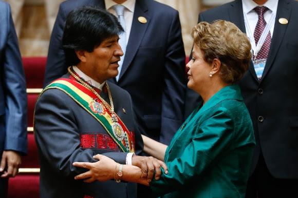 toma de posesión de Evo Morales 16