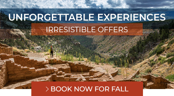 Unforgettable Experiences, Irresistible Offers - Book Now for Fall