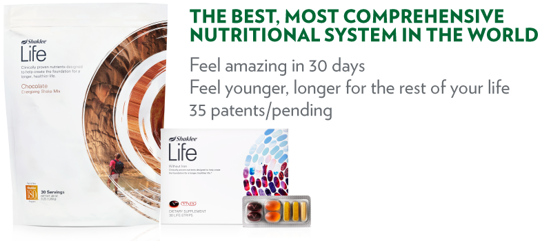 Shaklee Life Plan - The Best, Most Comprehensive Nutritional System in the World