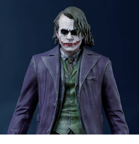 The Dark Knight The Joker 1/10 Art Scale Limited Edition Statue