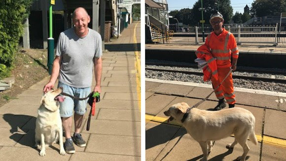 A 'round of a-paws' for dog rescue track engineers