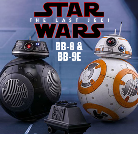 BB-8 & BB-9E 1/6 SCALE FIGURES