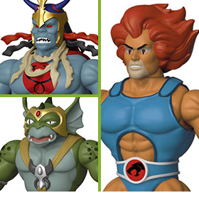 THUNDERCATS SAVAGE WORLD ACTION FIGURES