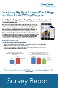 Survey: Increased ebook usage & value amid COVID-19