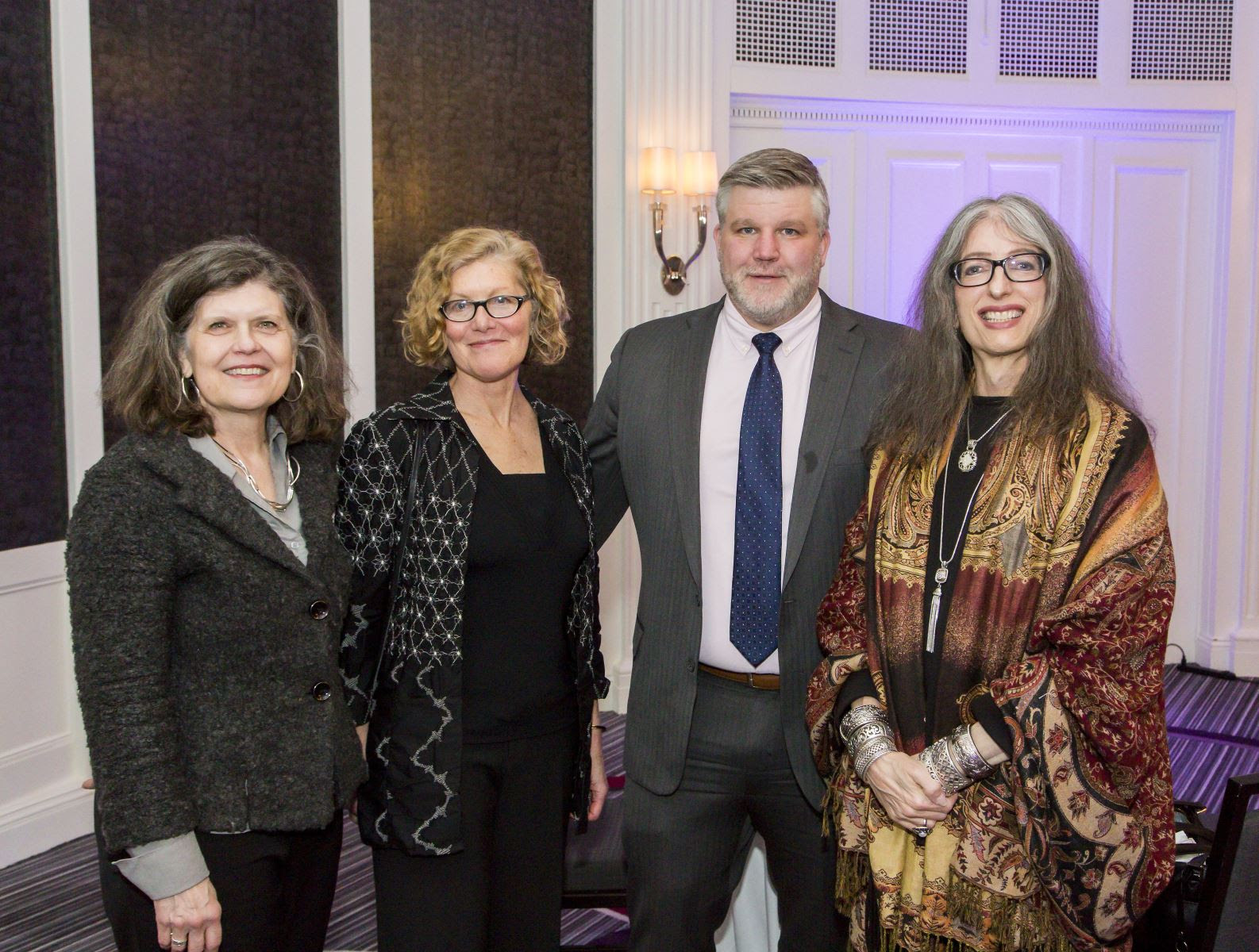 Leaders of Boston area businesses and organizations at Beacons of Light 2017