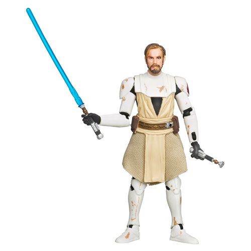 "Image of Star Wars The Vintage Collection Wave 3 (2020) - General Obi-Wan Kenobi (The Clone Wars) 3.75"" Figure"