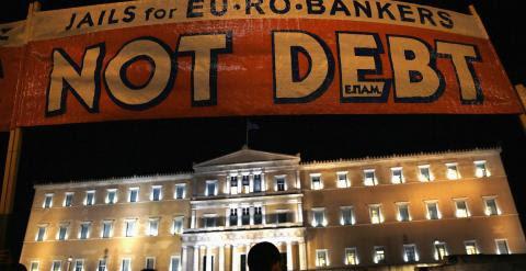 Manifestación contra la austeridad en la plaza Syntagma. REUTERS
