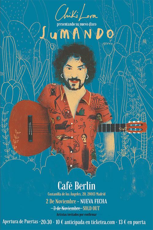 Concierto de Chiki Lora en el Café Berlín