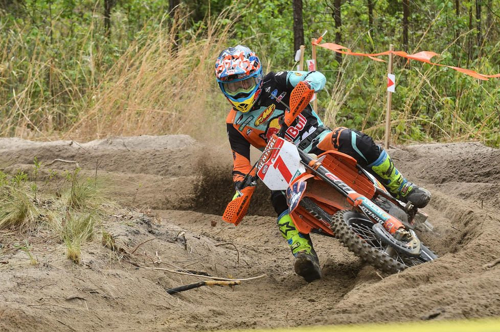 Kailub Russell will be looking to fight for his seventh GNCC National Championship this season.