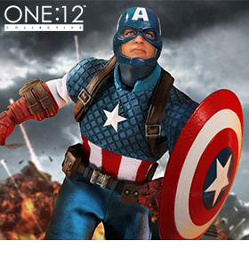 ONE:12 COLLECTIVE CAPTAIN AMERICA FIGURE