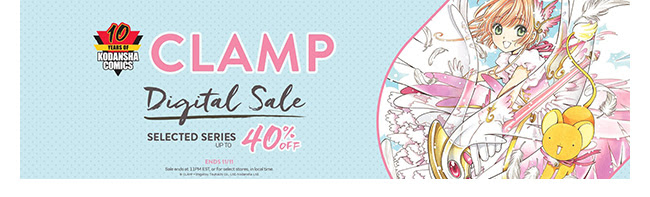 Kodansha CLAMP Sale: up to 40% off! | Ends 11/11