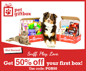 50% off your First Box at PetG...