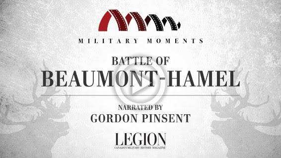 Gordon Pinsent Narrated Battle of Beaumont-Hamel