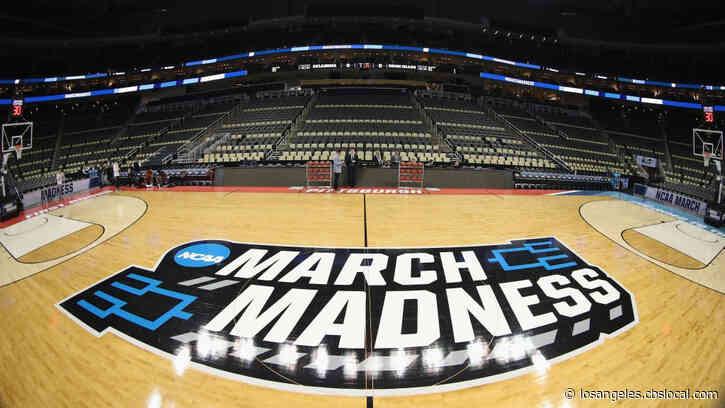 empty basketball court and stadium