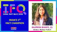 GIRL- from- Madhya- Pradesh- wins- India- Fact- Quiz -Championship