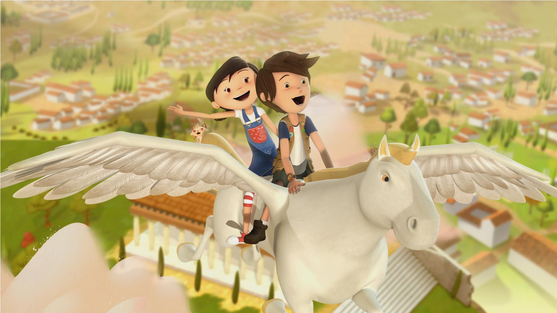 Diário de Pilar: Série de Animação Brasileira exploras as Belezas da Grécia