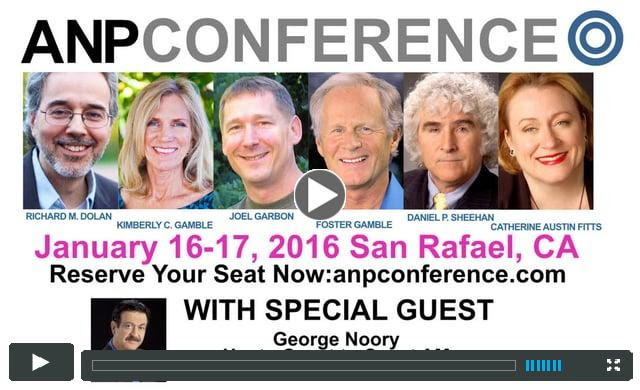 ANP Conference - San Rafael, CA, Jan. 16-17, 2016
