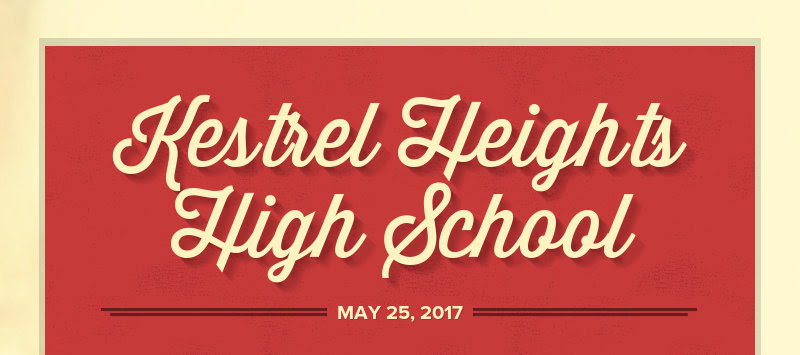Kestrel Heights High School MAY 25, 2017