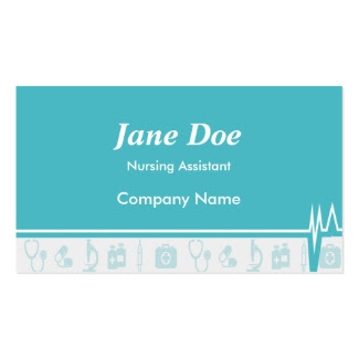 Trendy Medical Business Cards