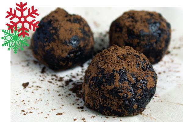 Brownie Rum Balls