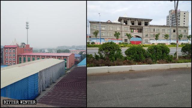 Das ursprüngliche Erscheinungsbild der True Jesus Church in Caidu Stadt