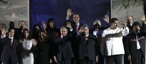 Foto de Familia de la II Cumbre de la CELAC. Foto: Ismael Francisco/ Cubadebate. Para ver la imagen en alta resolución, haga clic sobre ella.