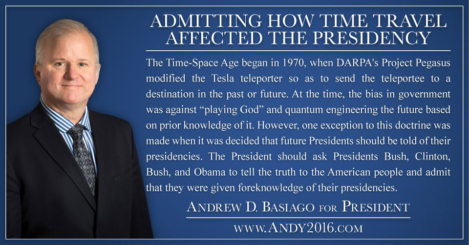 Andy2016-AdmittingTimeTravelAffectedPresidency