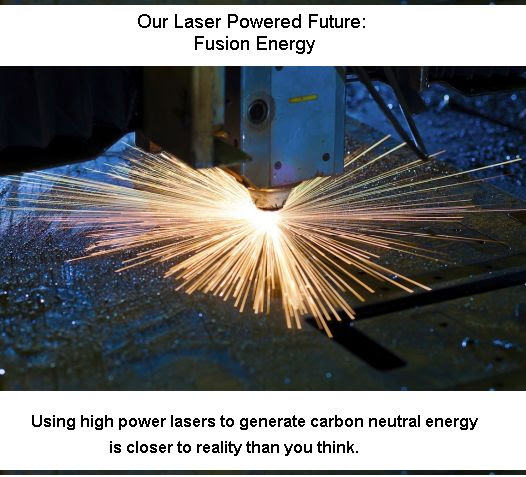 Laser induced fusion