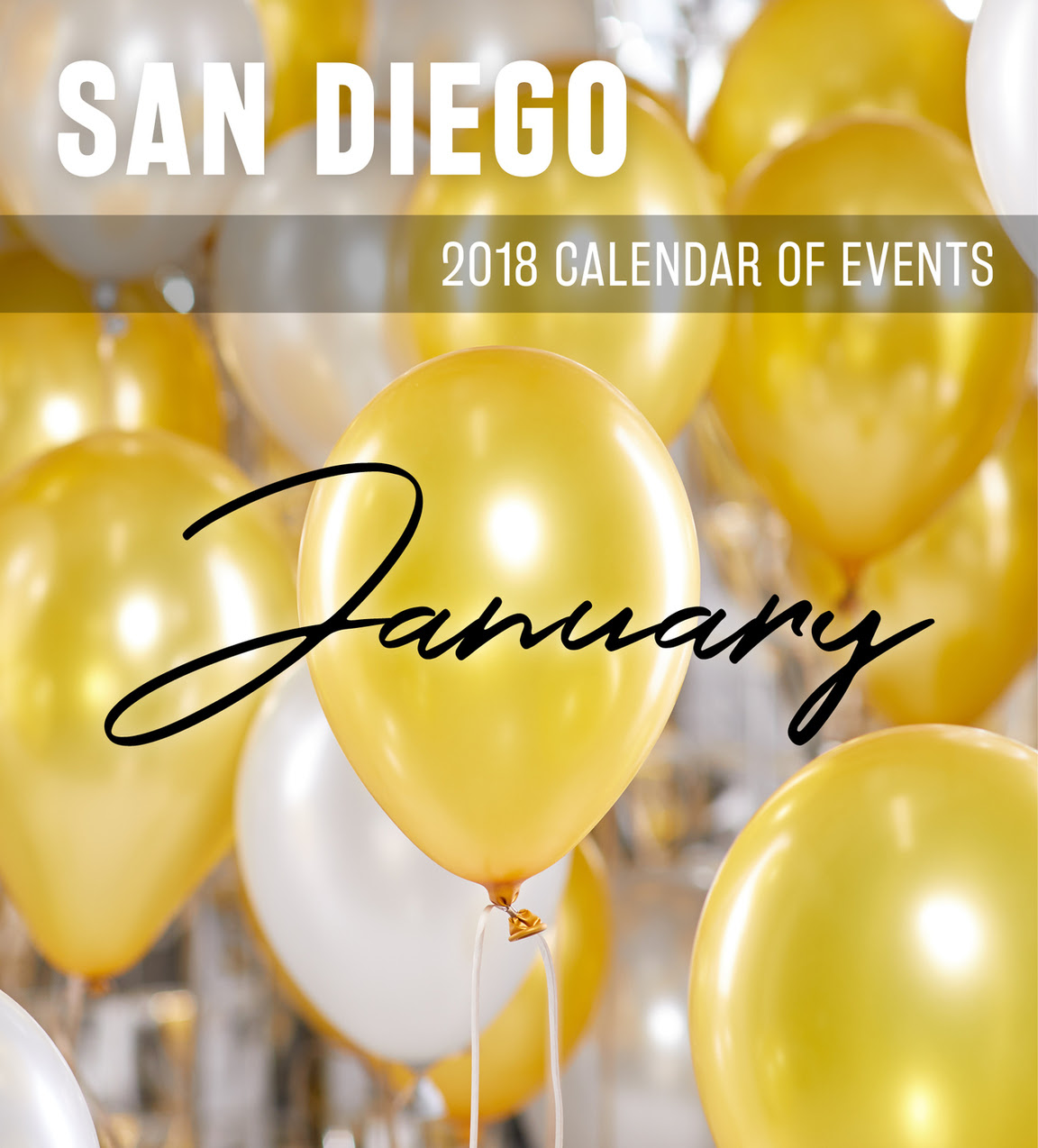 San Diego Calendar of Events January 2018