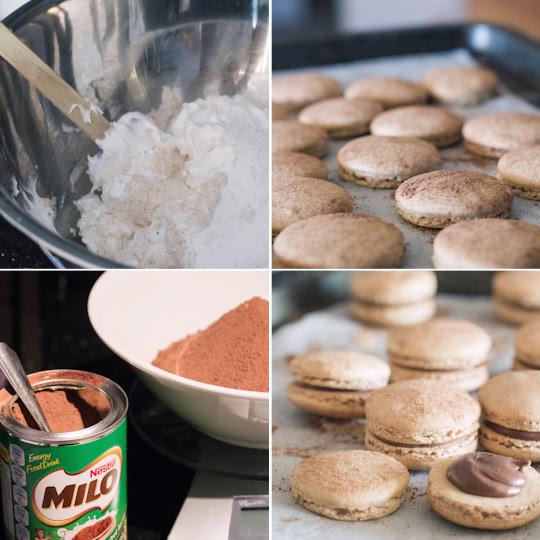 Milo Macarons