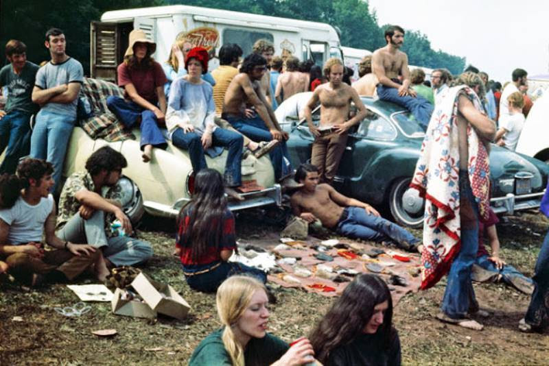 46 Years Ago Today, 500,000 People Descended On A Farm For The Greatest Music Festival Of All Time Woodstock-festival