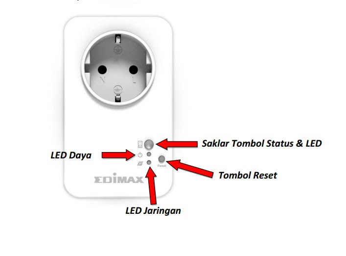 SMART HOME PLUG SWITCH (Edimax SP1101W), Gadget Kendali Jarak Jauh_4
