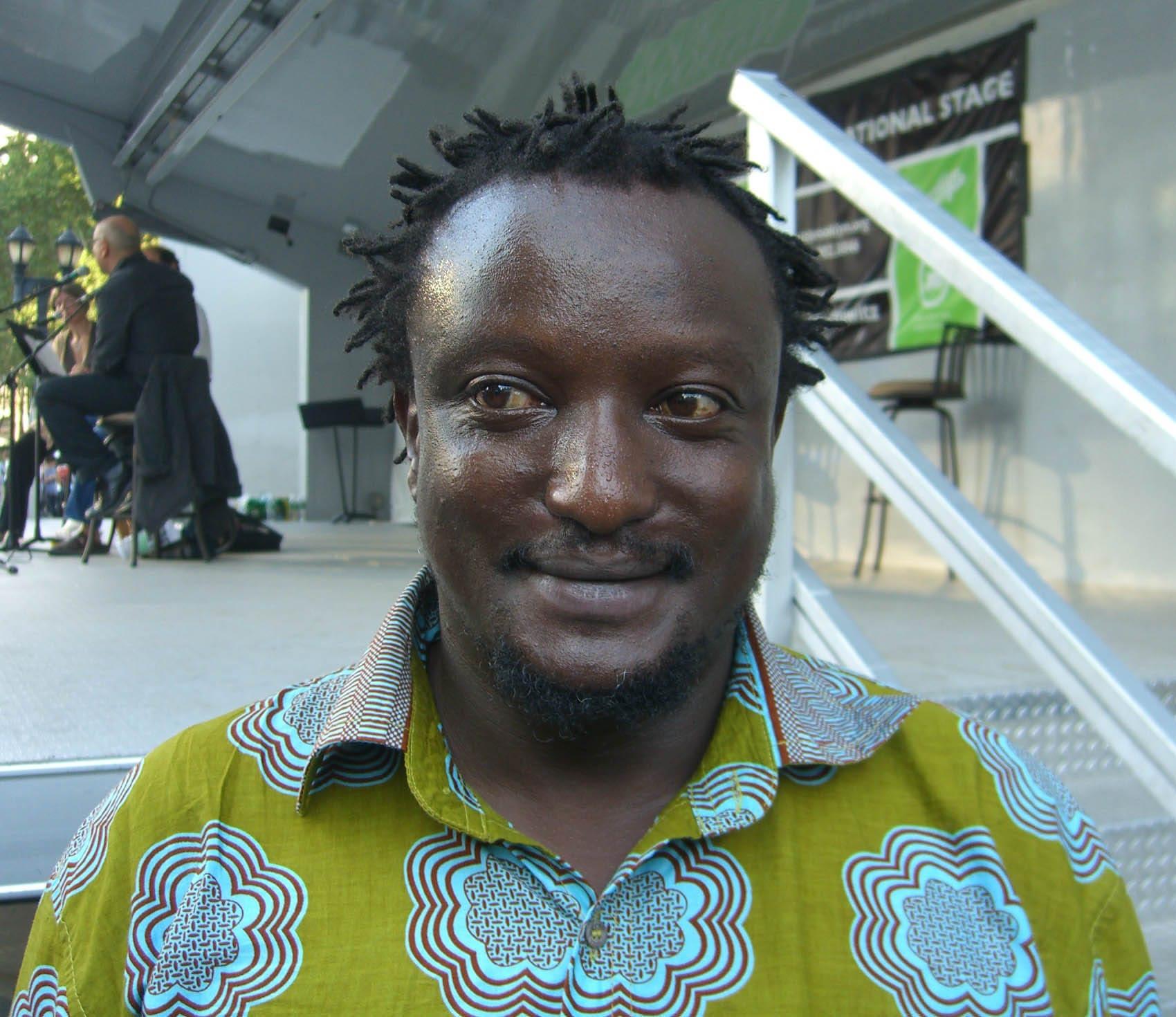 WriterBinyavanga Wainainaat the 2009Brooklyn Book Festival byNightscream