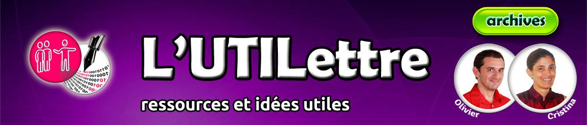 L'UTILettre | ressources et idées utiles
