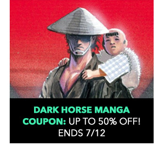 Dark Horse Manga Coupon: up to 50% off! Sale ends 7/12.