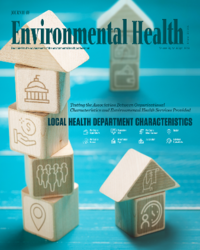 Organizational Characteristics of Local HDs and EH Services and Activities cover photo for Journal of Environmental Health April 2018