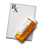 Pill Bottle and RX pad