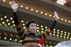 Yutaka Take, best known for riding Deep Impact and Kitasan Black, also rode Lani in the 2016 Triple Crown races