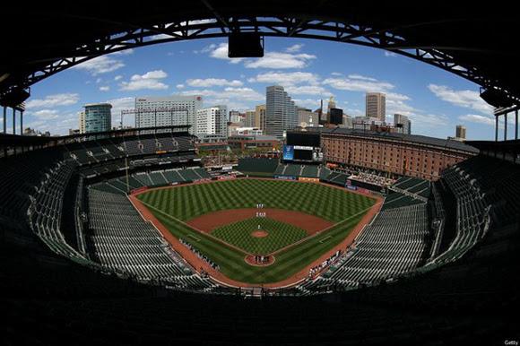Una ficha para la historia del béisbol: 29 de abril de 2015. Orioles de Baltimore vs. Medias Blancas de Chicago. Estadio Camden Yards.
