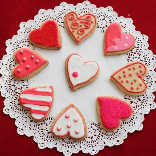 Valentine's Day Cookies | ZoëBakes | Photo by Zoë François
