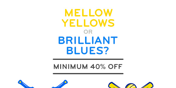 Mellow Yellow Min.40% Off