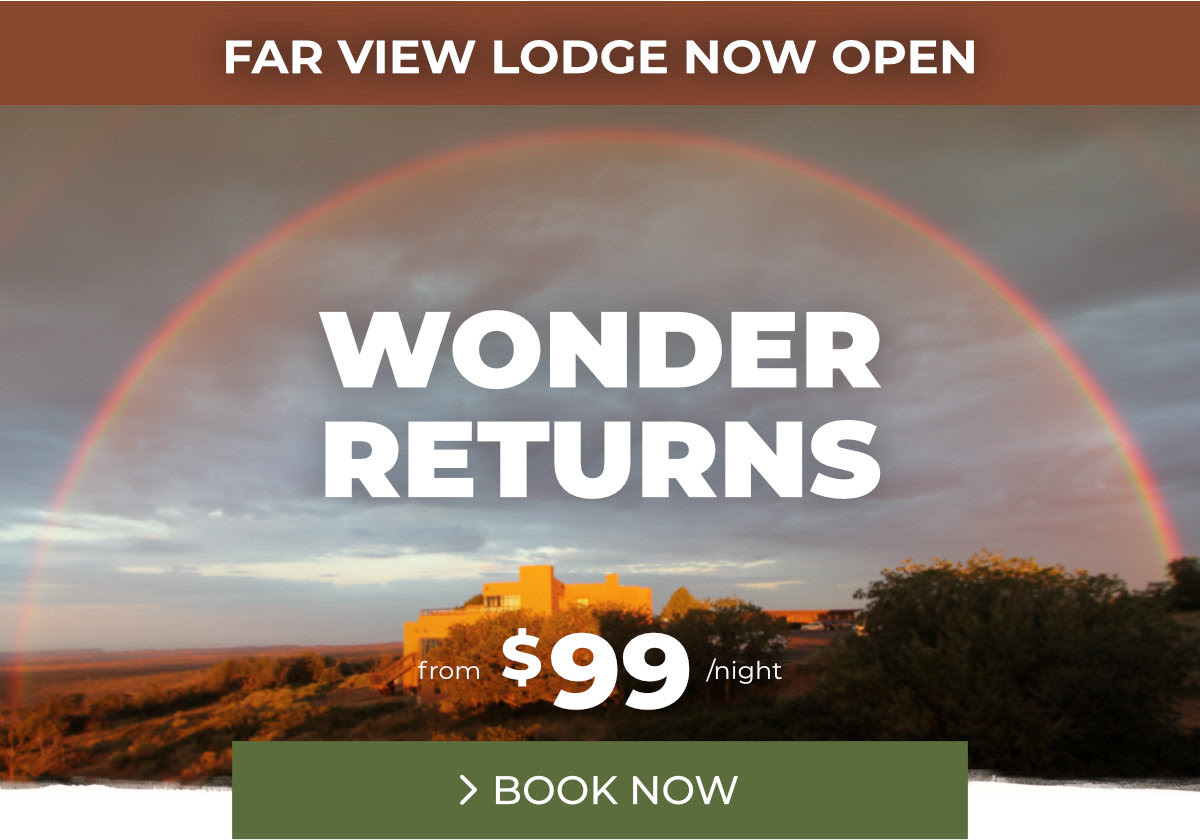 Far View Lodge Now Open