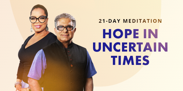 21- Day Meditation Hope in Uncertain Times