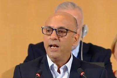 "Abdala en la OIT: ""Frente a la ética del frío mercado se opone la ética de la dignidad humana"""