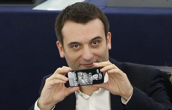 """Florian Philippot et la méthode Coué: """"tout va bien au Front National"""""""