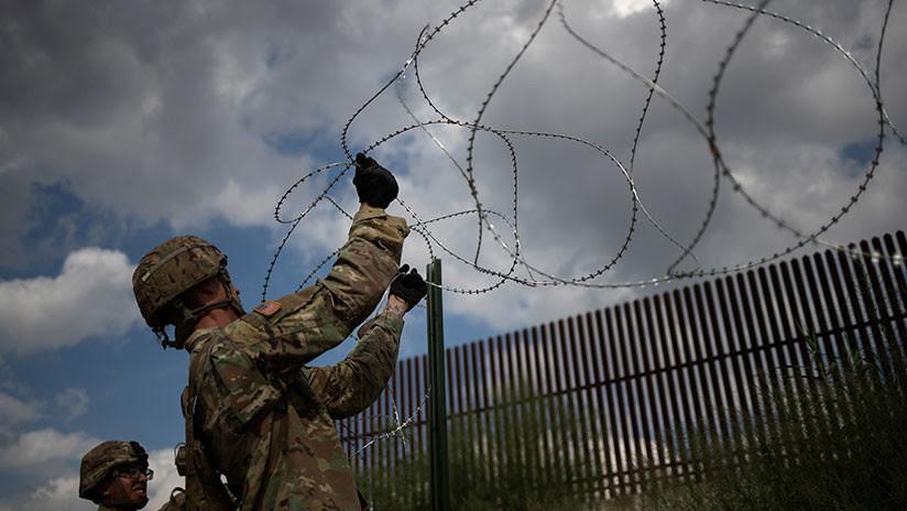 Trump afirma que el Ejército de EE.UU. construirá el muro fronterizo si los demócratas no lo apoyan
