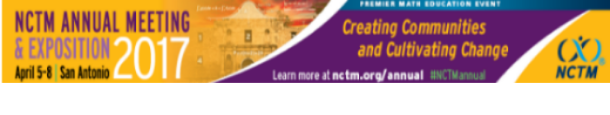 2017 NCTM Annual Meeting